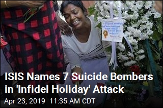 ISIS Names 7 Suicide Bombers in 'Infidel Holiday' Attack