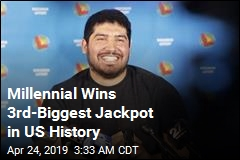 Millennial Wins 3rd-Biggest Jackpot in US History