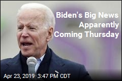 Biden's Big News Apparently Coming Thursday