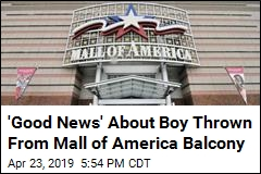 Boy Thrown Off Mall of America Balcony Still Under Sedation