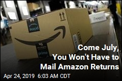 Come July, You Won't Have to Mail Amazon Returns