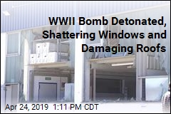 Controlled Detonation of WWII Bomb Still Causes a Lot of Damage