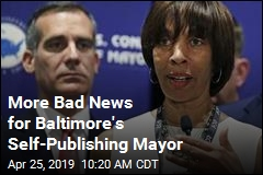 More Bad News for Baltimore's Self-Publishing Mayor