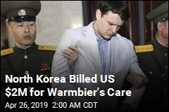 US Agreed to Pay North Korea $2M as Warmbier Was Freed