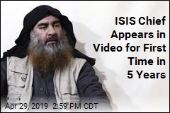 ISIS Chief Appears in Video for First Time in 5 Years