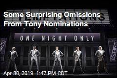 Here Are Your Tony Nominees