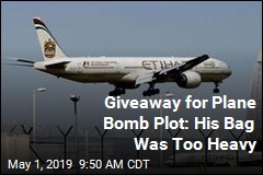 Giveaway for Plane Bomb Plot: His Bag Was Too Heavy