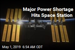 Major Power Outage Hits Space Station