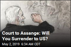 Court to Assange: Will You Surrender to US?