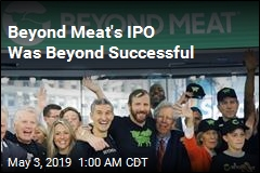 Beyond Meat's Share Price More Than Doubles on First Day