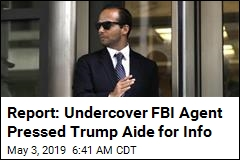 Report: FBI Sent Undercover Agent to Meet Trump Aide