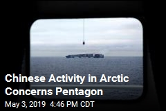 Chinese Activity in Arctic Concerns Pentagon
