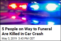 5 People Headed to Funeral Killed in Car Crash