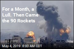 For a Month, a Lull. Then Came the 90 Rockets