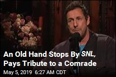 An Old Hand Stops By Saturday Night Live
