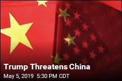 Trump Threatens China