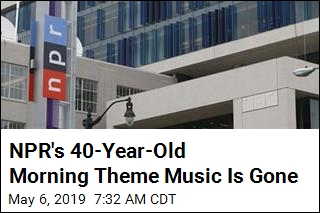 NPR Changes Morning Theme Music After 40 Years