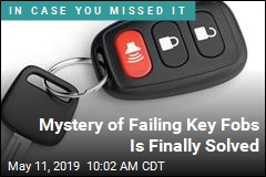 Mystery of Failing Key Fobs Is Finally Solved
