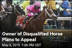 Owner of Disqualified Horse Plans to Appeal