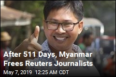 After 511 Days, Myanmar Frees Reuters Journalists