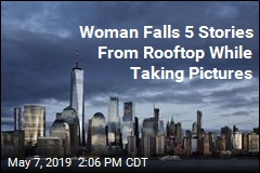Woman Falls 5 Stories From Rooftop While Taking Pictures