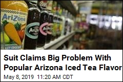 Lawsuit Claims Big Issue With Beloved Arizona Iced Tea Flavor