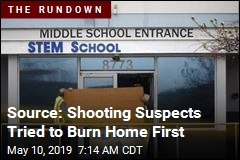 Source: Shooting Suspects Tried to Burn Home First