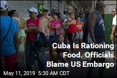 Cuba Is Rationing Food. Officials Blame US Embargo