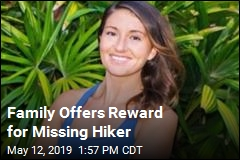 Family Offers Reward for Missing Hiker