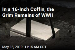 In a 16-Inch Coffin, the Grim Remains of WWII