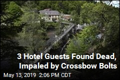 3 Hotel Guests Found Dead, Impaled by Crossbow Bolts