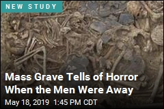 Mass Grave Tells of Horror When the Men Were Away