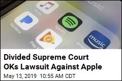 Supreme Court OKs Apple Antitrust Lawsuit