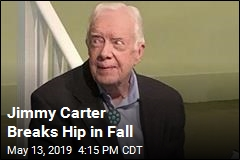 Jimmy Carter Breaks Hip While Preparing to Go Turkey Hunting