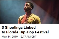 3 Shootings Linked to Florida Hip-Hop Festival