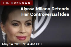 Alyssa Milano Defends Her Controversial Idea