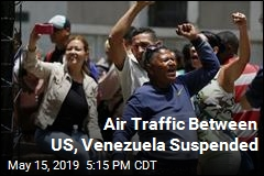 US Suspends Air Traffic With Venezuela