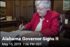 Alabama Governor Signs It