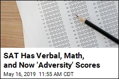 SAT Has Verbal, Math, and Now 'Adversity' Scores