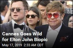 Cannes Goes Wild for Elton John Biopic