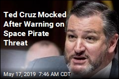 Ted Cruz Mocked After Warning on Space Pirate Threat
