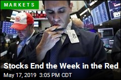 Stocks End the Week in the Red