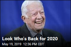 Carter Makes Surprise Return for 2020 Election