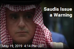 Saudis Issue a Warning