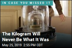 The Kilogram Is Different, as of Today
