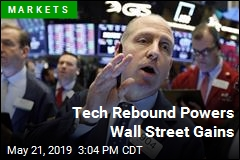 Tech Rebound Powers Wall Street Gains