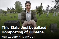This State Just Legalized Composting of Humans