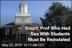 Court: Professor Can't Be Fired for Sex With Students