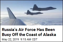 Russia's Air Force Has Been Busy Off the Coast of Alaska
