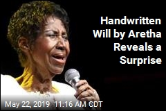 In Aretha's Surprise Wills, a Surprise Revelation